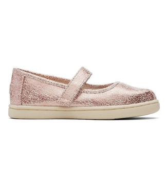 Toms Pink Crackle Mary Jane