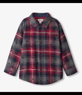 Hatley Mini Moose Button Down Shirt