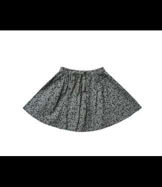 Rylee + Cru Mini Skirt - Indigo Meadow