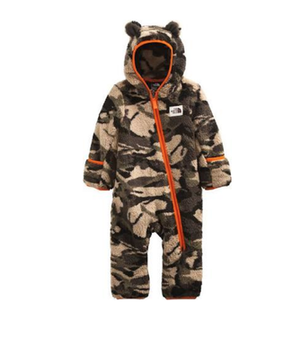 The North Face Infant Campshire Camo Onepiece