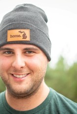 HOME STATE APPAREL HOME LEATHER PATCH BEANIE