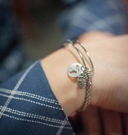 MY CAPTURED JOURNEY PINECONE BANGLE