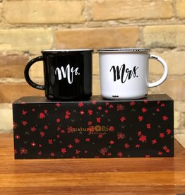 MR. & MRS. CAMP MUG SET