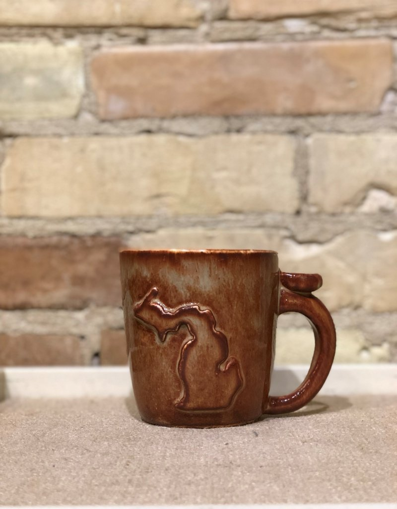 MICHIGAN OUTLINE MUG-Multiple colors/designs available