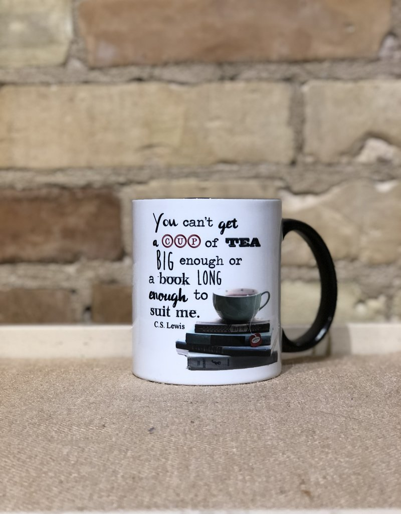 DRINK TEA READ BOOKS MUG