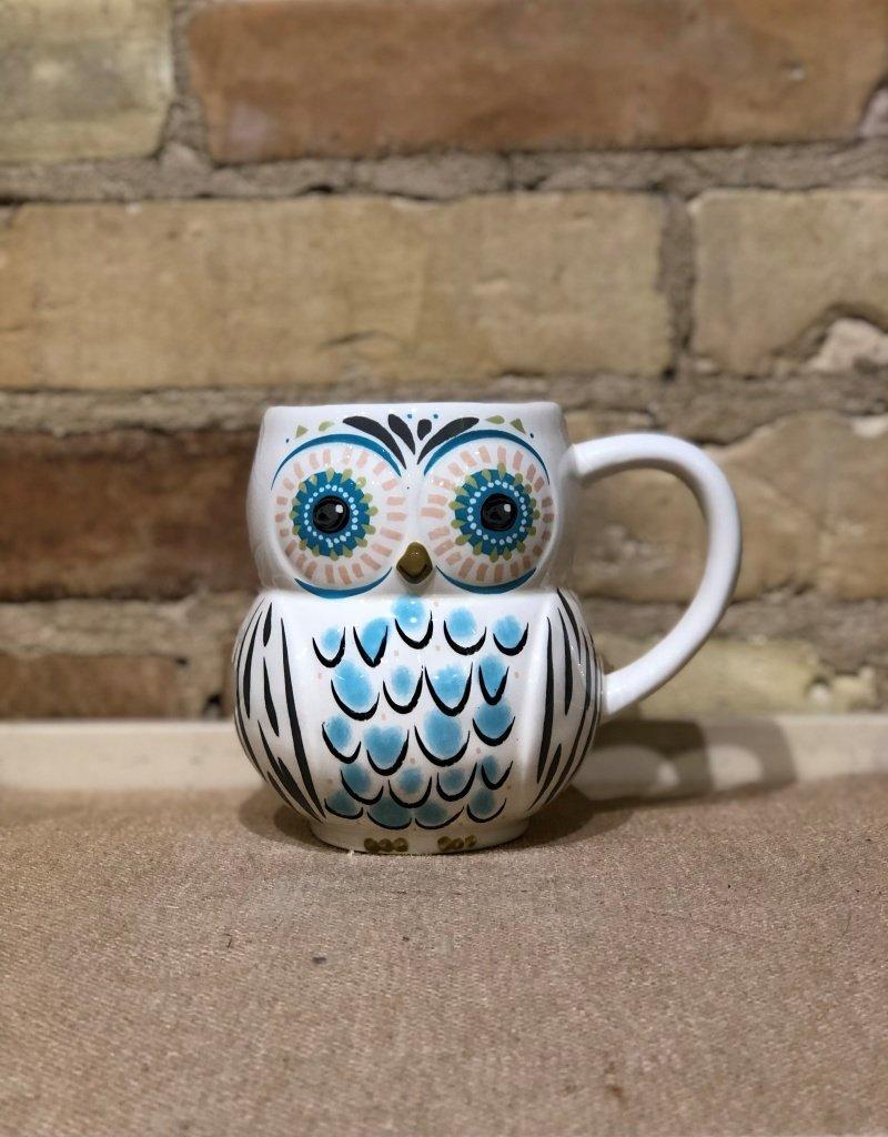 OWL FOLK MUG