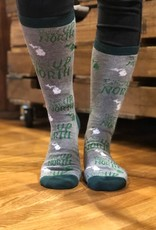 I'D RATHER BE UP NORTH SOCKS