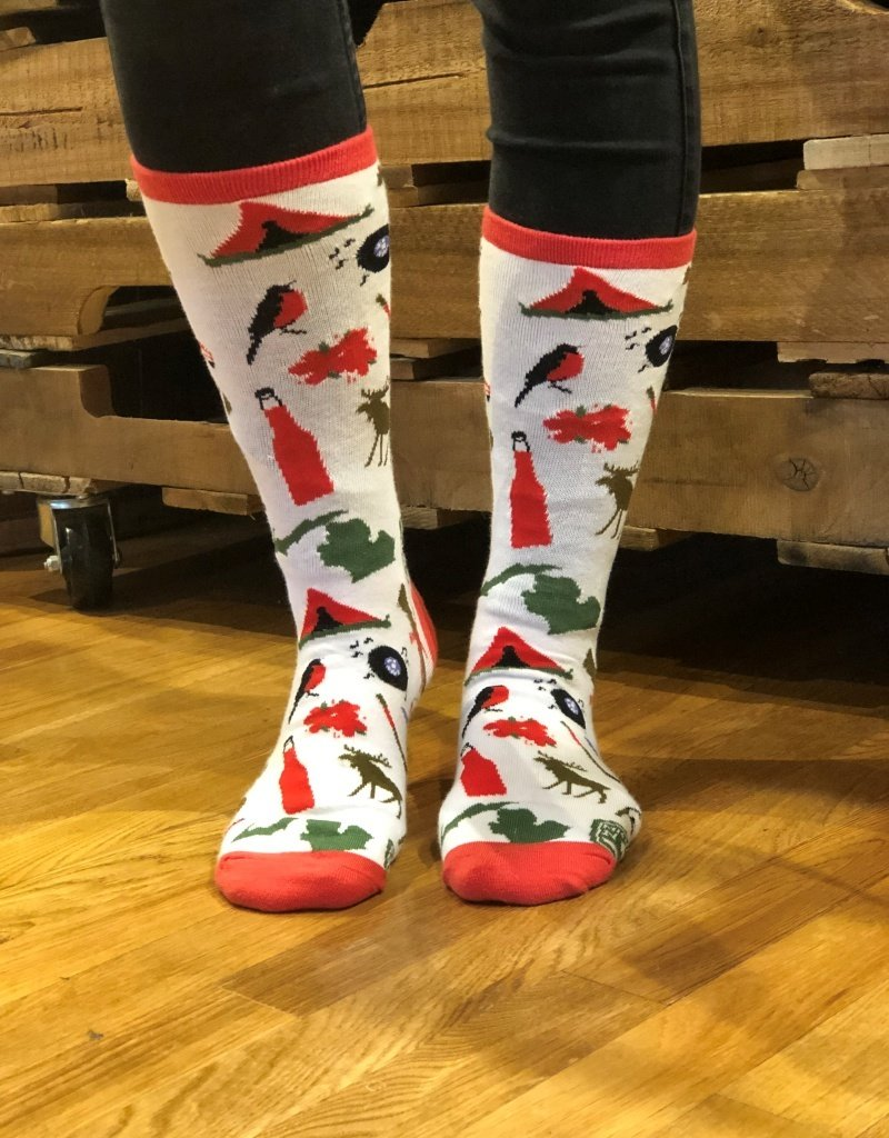MIDWEST SUPPLY CO MICHIGAN ICON SOCKS