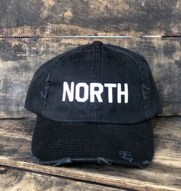 DISTRESSED NORTH HAT
