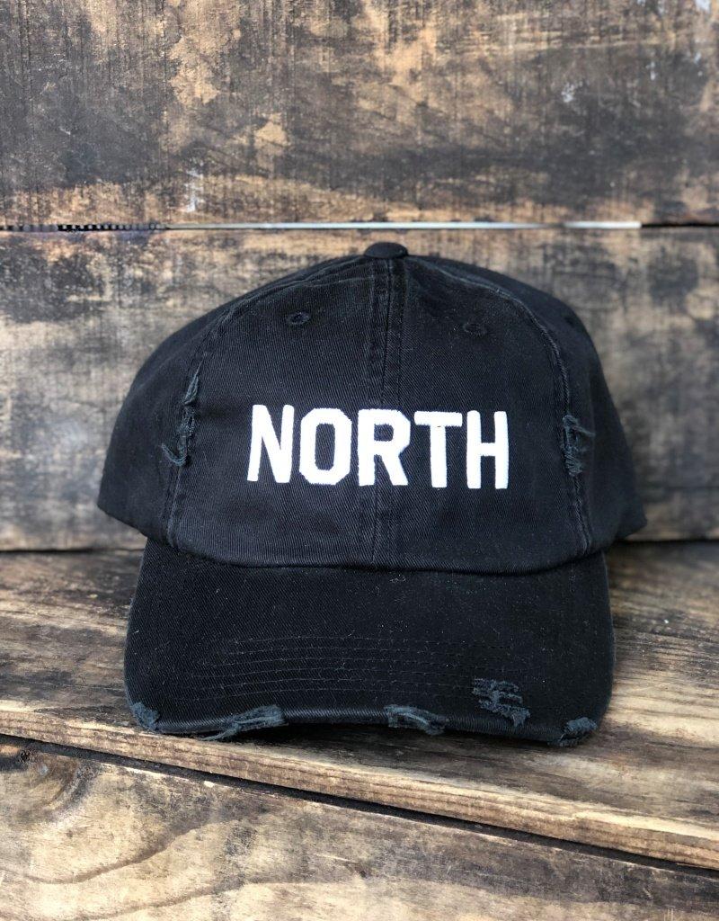 DISTRESSED NORTH HAT