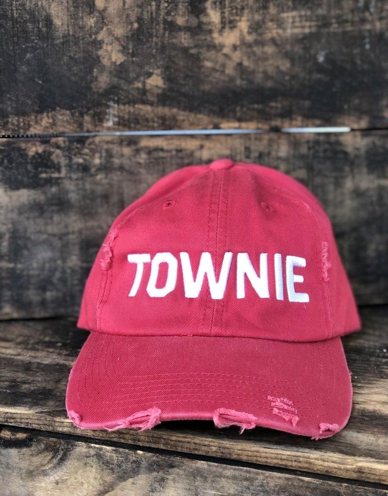 DISTRESSED TOWNIE HAT