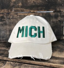 MIDWEST SUPPLY CO DISTRESSED MICHIGAN HAT