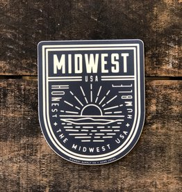 HUMBLE & HONEST MICHIGAN STICKER