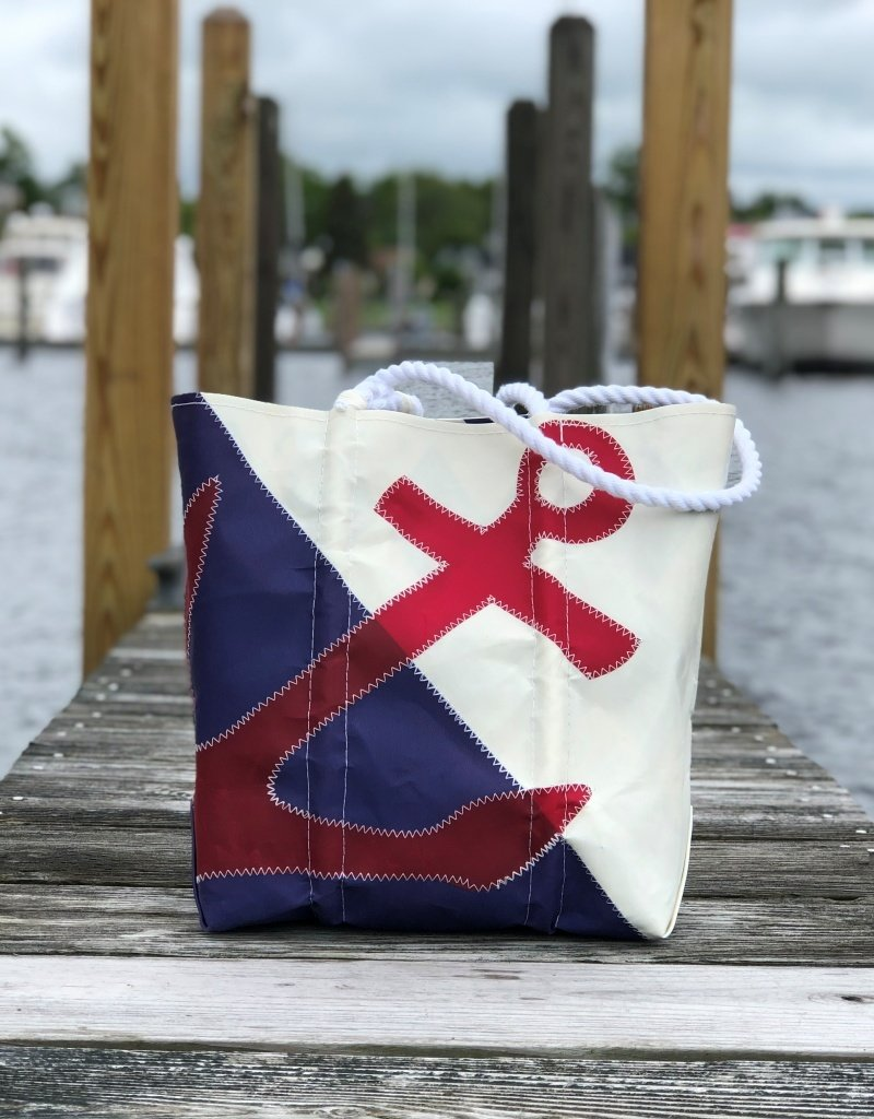 SEA BAGS SEA BAG ANCHOR TOTE