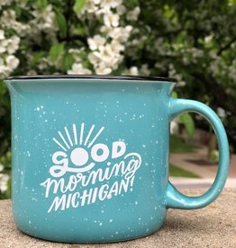 MIDWEST SUPPLY CO GOOD MORNING MICHIGAN MUG