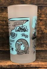 LIMITED EDITION PETOSKEY FROSTED GLASS