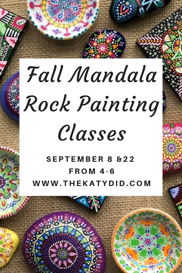 Mandala Rock Painting Classes