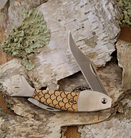 STERLING BROOKE LARGE KNIFE - SCALES