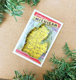 CITY BIRD COOKIE CUTTER LOWER MICHIGAN
