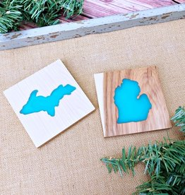 SERENITY WOODWORKING UPPER PENINSULA MICHIGAN COASTER