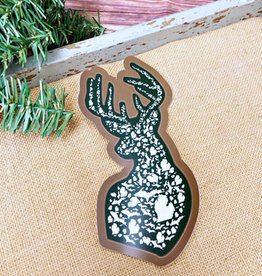 COASTAL SANDS DEER STICKER