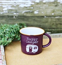 NATURAL LIFE HAPPY CAMPER MUG