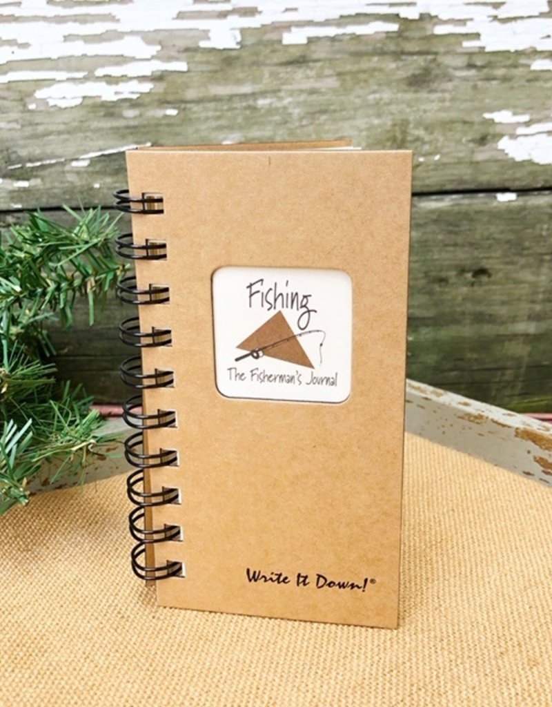 FISHING JOURNAL MINI