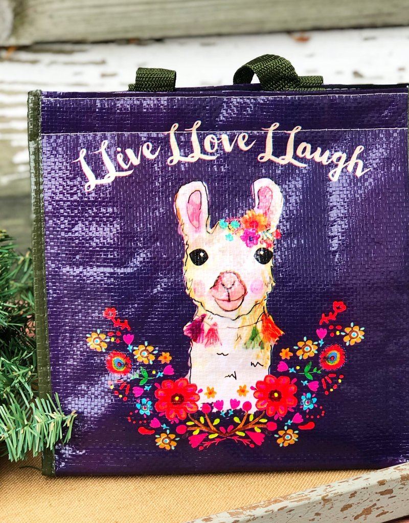 NATURAL LIFE LLAMA INSULATED LUNCH BAG