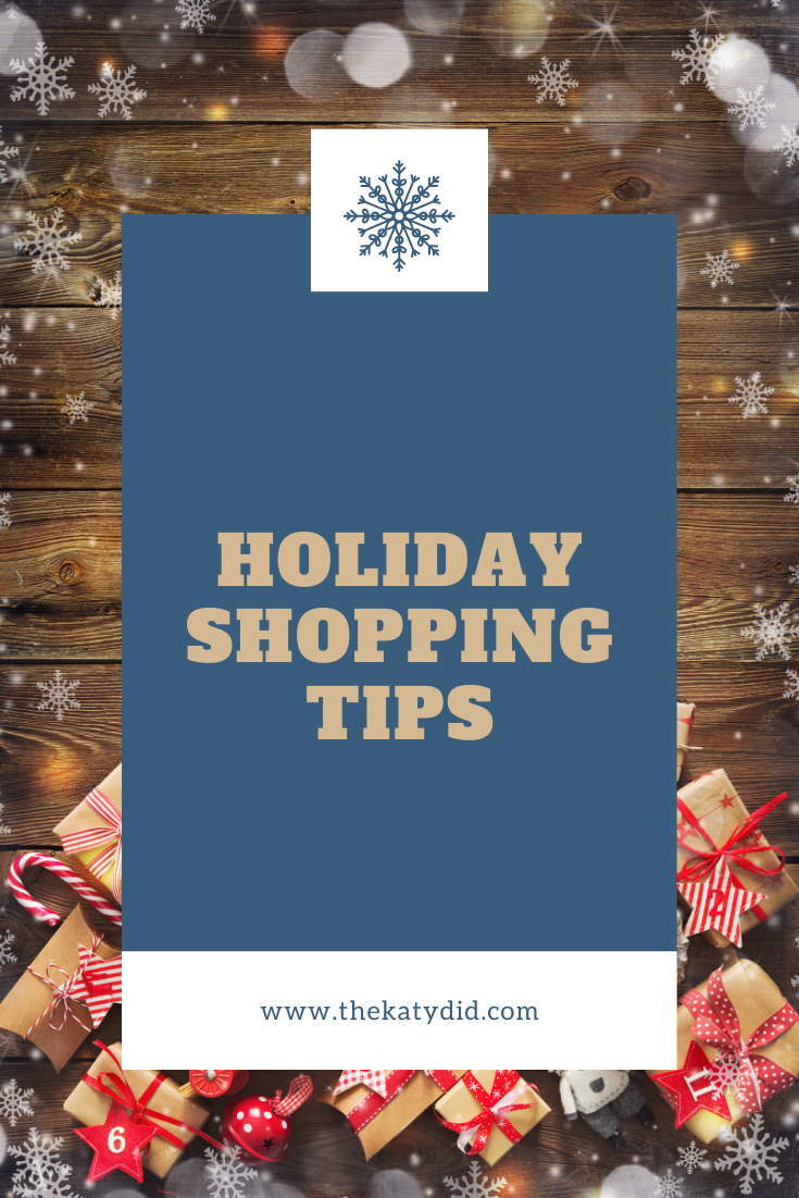 5 Tips for Holiday Shopping