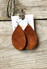 SWEET PEA + ME DESIGNS LEATHER EARRINGS - B