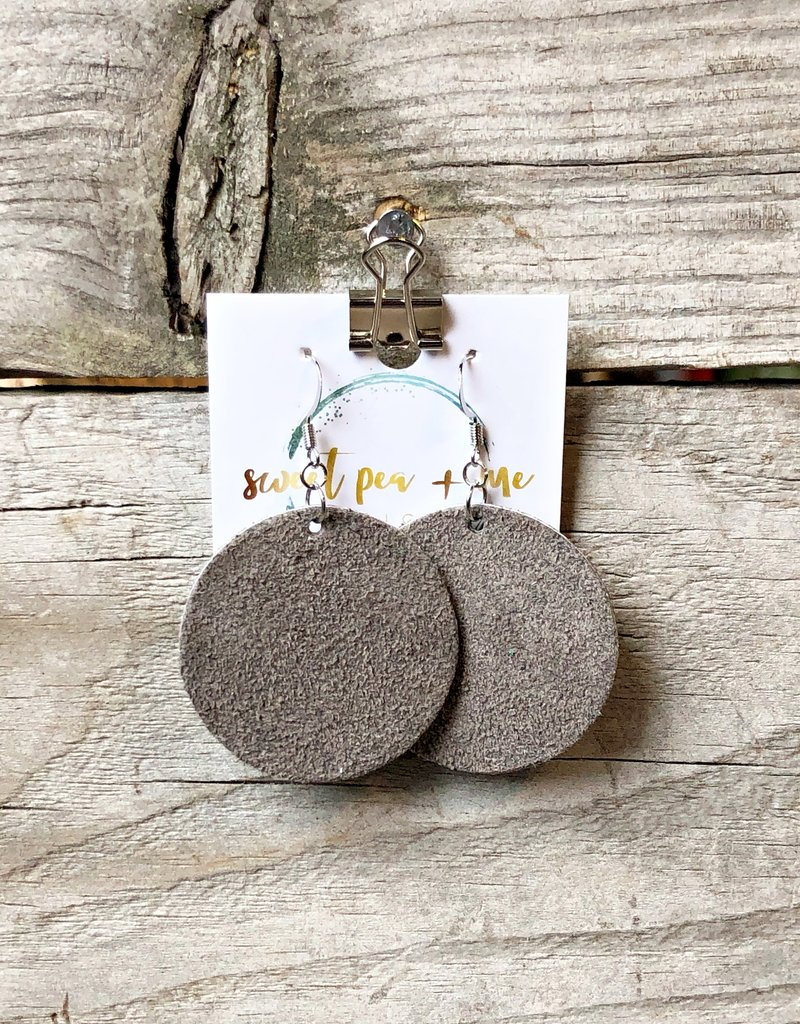 SWEET PEA + ME DESIGNS LEATHER EARRINGS - F