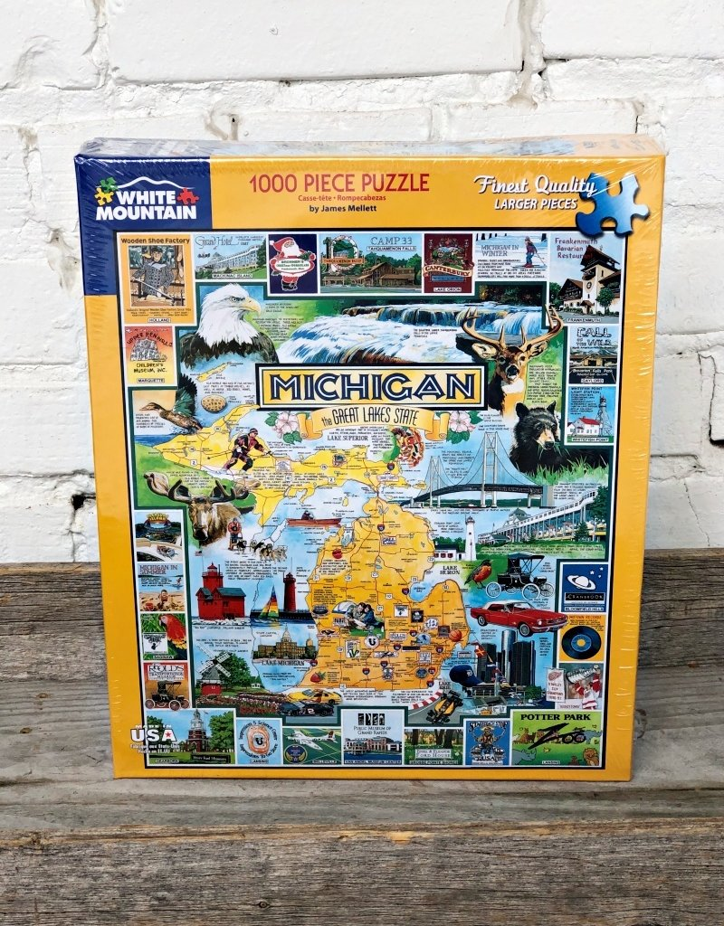 WHITE MOUNTAIN PUZZLE BEST OF MICHIGAN PUZZLE