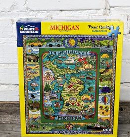 WHITE MOUNTAIN PUZZLE YELLOW PURE MICHIGAN PUZZLE