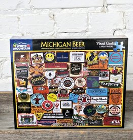 WHITE MOUNTAIN PUZZLE MICHIGAN BEER PUZZLE