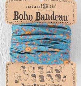 NATURAL LIFE BOHO BANDEAU BLUE FLOWER