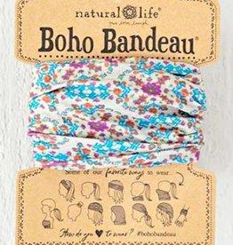 NATURAL LIFE BOHO BANDEAU GREY FLOWER
