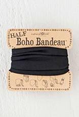 NATURAL LIFE HALF BOHO BANDEAU BLACK