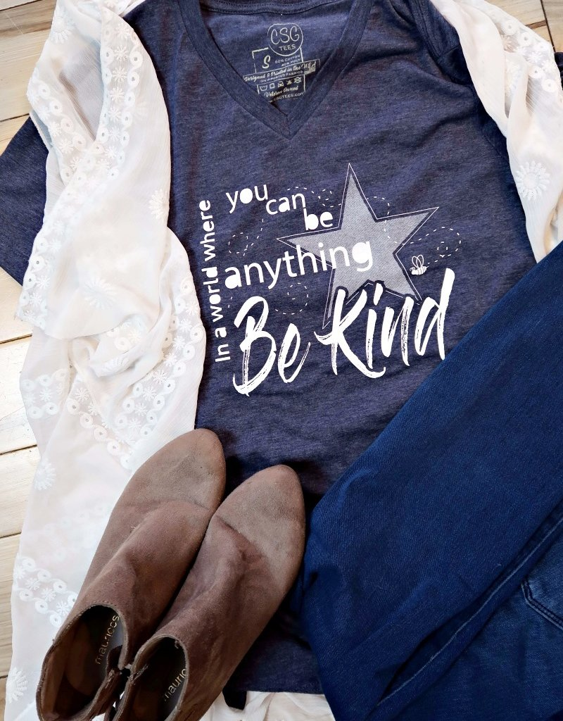 COASTAL SANDS WOMEN'S BE KIND TEE