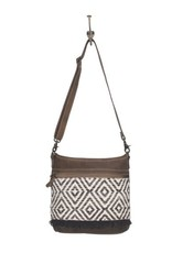 MYRA BAGS PATTERNED SHOULDER BAG