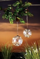 LIGHT UP GLASS HANGING BUBBLE