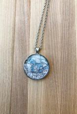 CHART METAL WORKS CHART NECKLACE