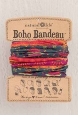 NATURAL LIFE BOHO BANDEAU NAVY & RED
