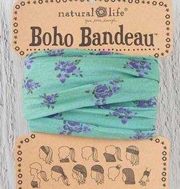NATURAL LIFE BOHO BANDEAU SAGE ROSE