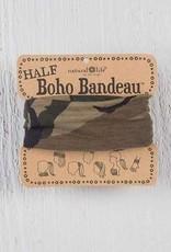 NATURAL LIFE HALF BOHO BANDEAU CAMOUFLAGE