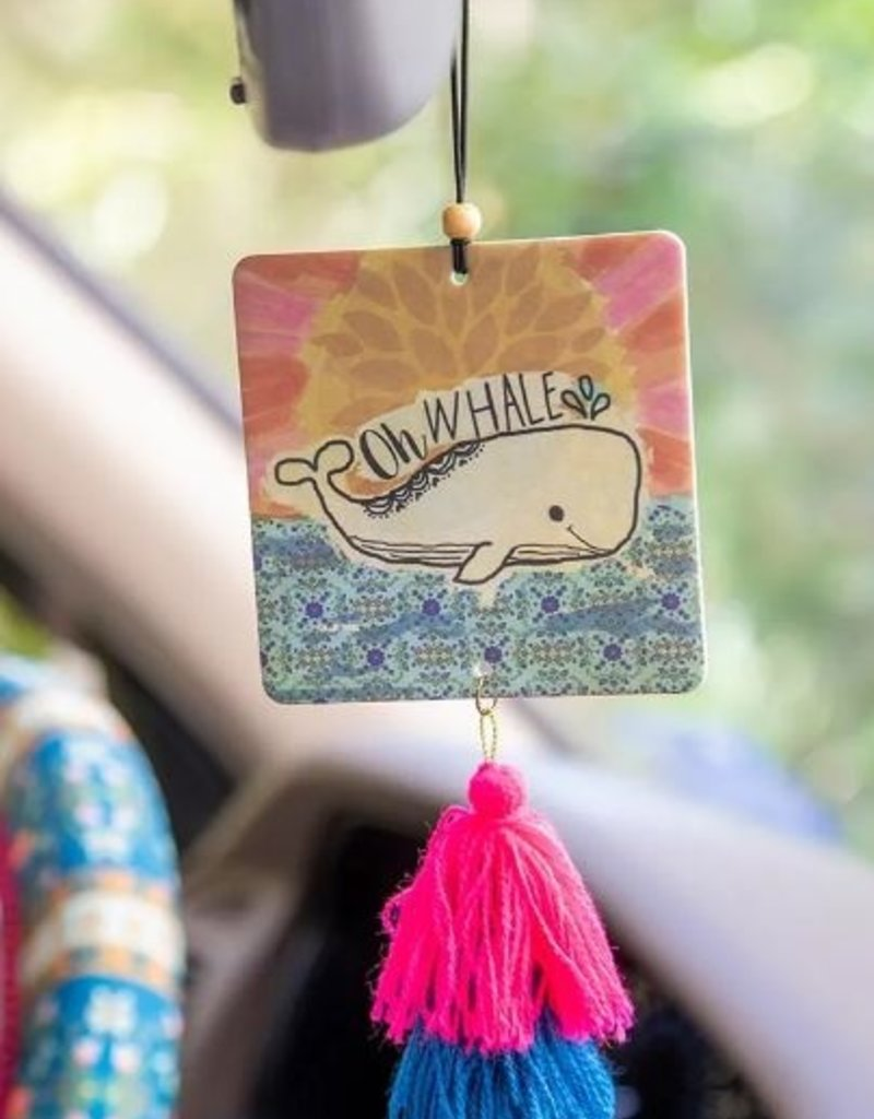 NATURAL LIFE AIR FRESHENER OH WHALE