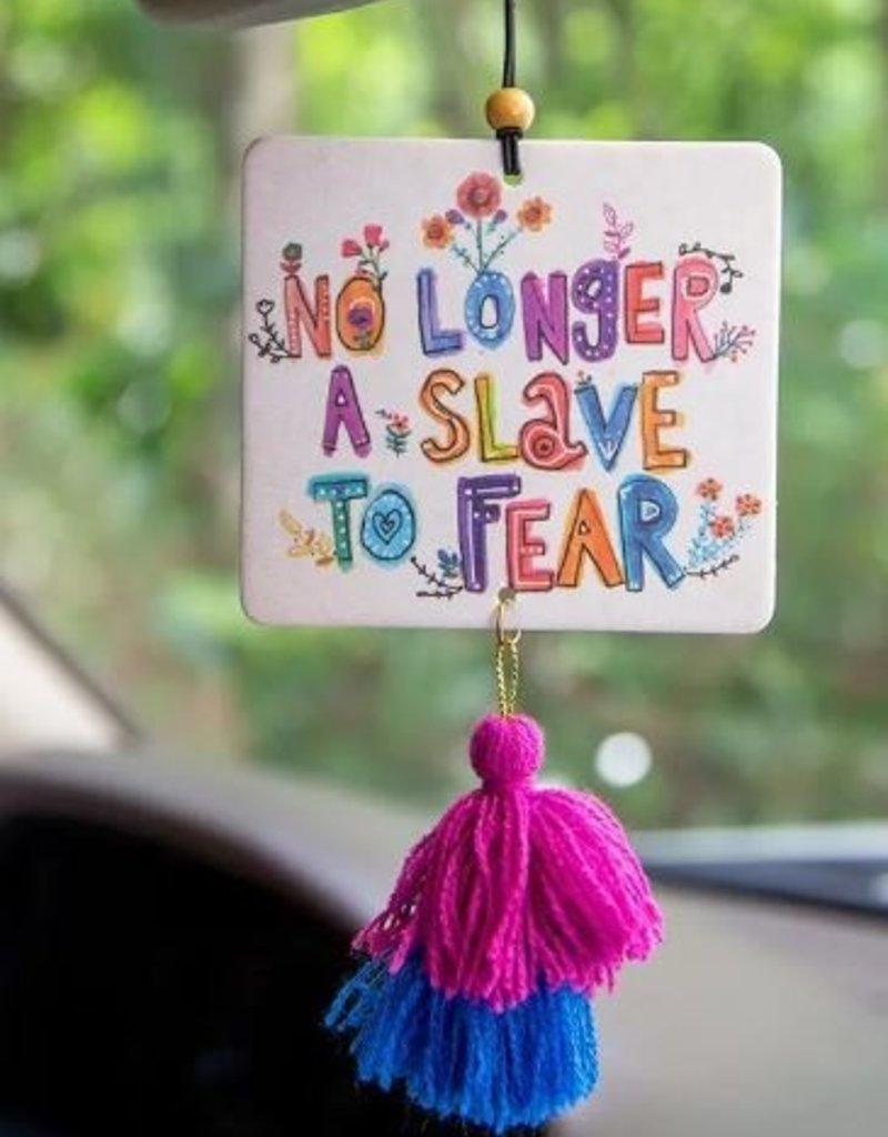 NATURAL LIFE AIR FRESHENER NO LONGER A SLAVE TO FEAR