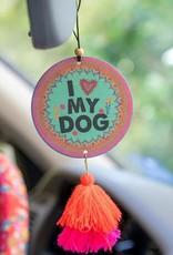 NATURAL LIFE AIR FRESHENER I LOVE MY DOG