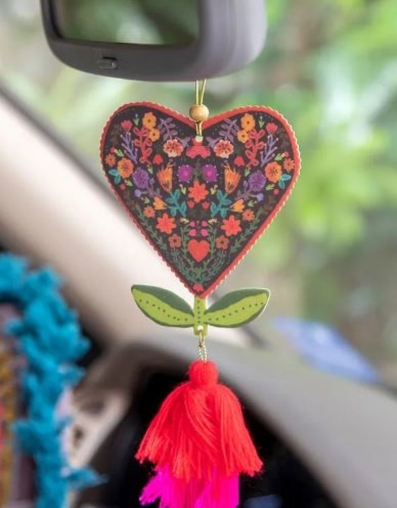 NATURAL LIFE AIR FRESHENER FLORAL HEART
