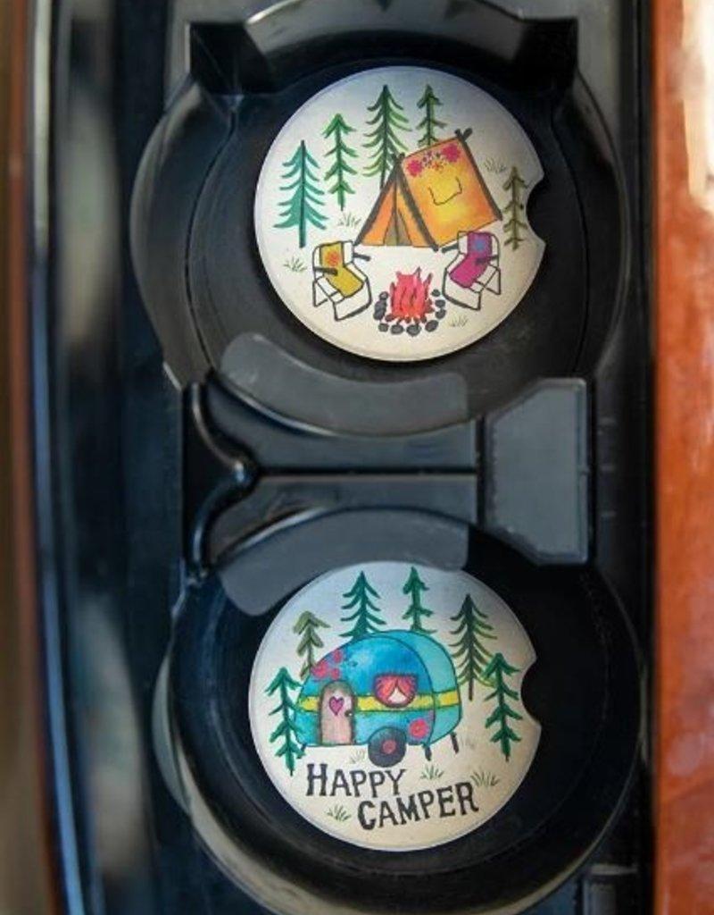 NATURAL LIFE CAR COASTER HAPPY CAMPER