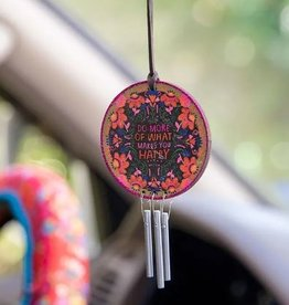 NATURAL LIFE CAR CHARM DO WHAT MAKES YOU HAPPY